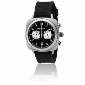 Reloj cronógrafo Clubmaster Sport Acero - Esfera negra