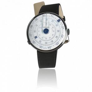 Reloj Klok-01 Azul Sencillo