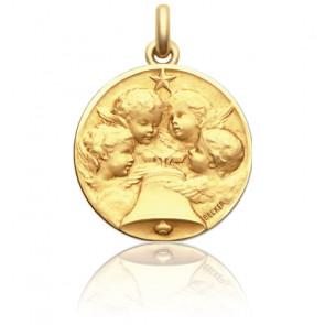 Medalla Angelus oro amarillo 18K