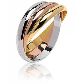 Anillo Trianon 4 mm 3 Oros