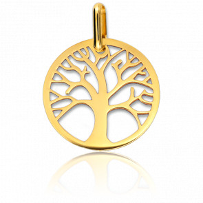 Colgante Árbol de la vida calada Oro Amarillo 9 quilates