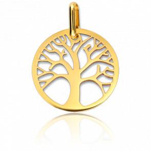 Colgante Árbol de la vida Calado de Oro amarillo de 18 quilates