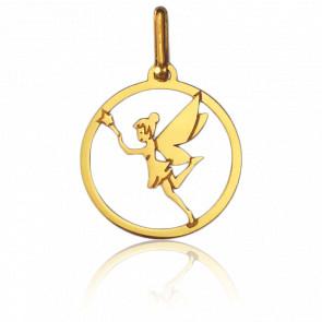 Medalla Hada Calada de Oro Amarillo de 9 quilates