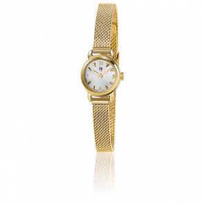 Reloj para mujer Henriette Gold Malla Milanesa 671265