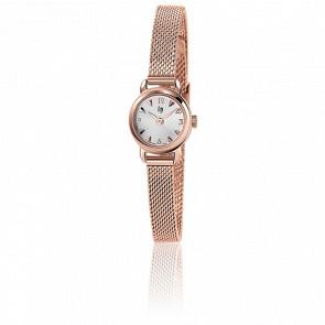 Reloj para mujer Henriette Rose Gold Malla Milanesa 671266