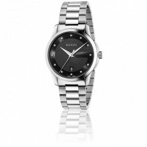 Reloj G-Timeless Restyle YA126456 Acero y Diamantes
