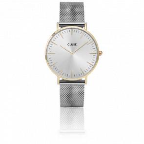 Reloj La Bohème Mesh Gold/Silver CL18115