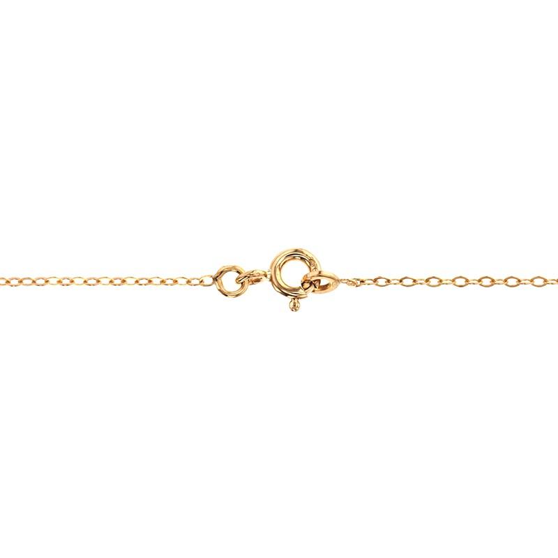 1a5a7b8b8e Collar de Oro Amarillo 18k Nombre Claudia - Ocarat