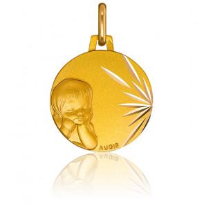 Medalla niño Oro Amarillo 18k