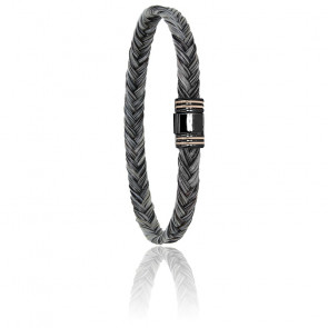 Pulsera Crin de Caballo 6 mm, Morgan