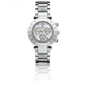 Reloj Versace Reve Chrono 40mm Correa Esfera Acero Q5C99D498 S099