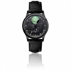 Reloj Moon Meteorite PVD
