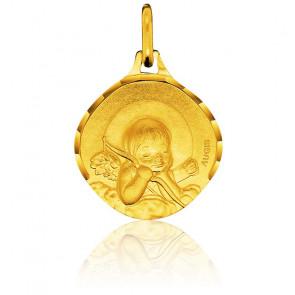 Medalla Ángel Oro amarillo