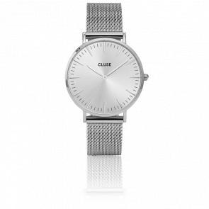 Reloj La Bohème Mesh Full Silver CL18114