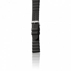 Correa reloj caucho negro para modelo INOX