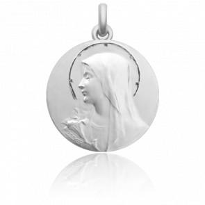 Medalla de Cuna de Plata: Anunciación y Ramo de Flores