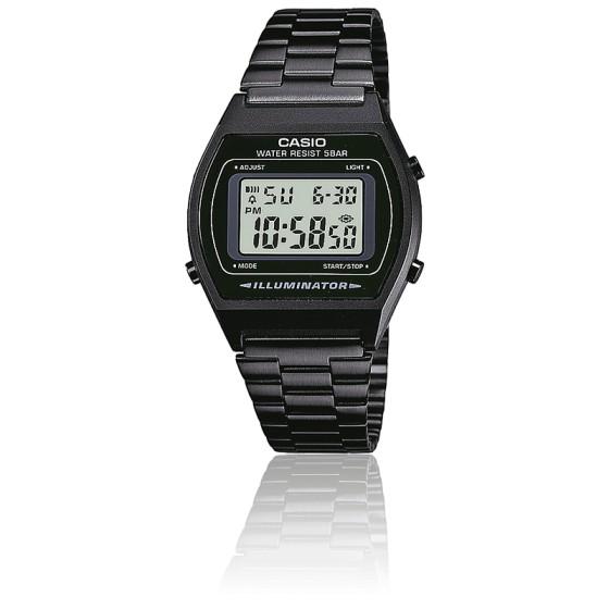 5e468bea1f31 Reloj Casio Vintage diseño negroCollection B640WB-1AEF - Ocarat