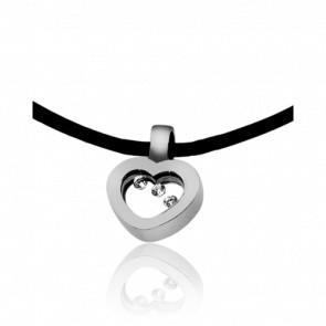 Collar Dancing Diamonds Corazón pequeño