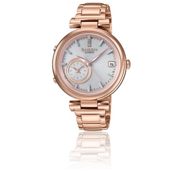 Reloj casio plateado mujer rosa