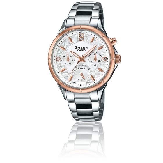 1c99a4b3e2dc Reloj de moda para mujer Casio Sheen SHE-3047SG-7AUER - Casio - Ocarat