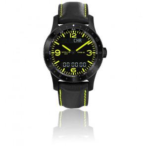 Reloj Type 23 Cuarzo Multifunciones Negro Vision Nocturna