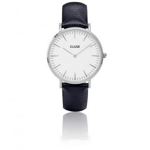Reloj La Bohème Silver White/Midnight Blue CL18232