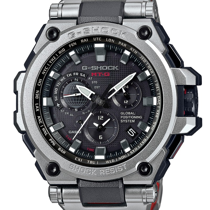 6cc6d219996f Casio G-Shock · Reloj MTG-G1000RS-1AER Plateado · Reloj MTG-G1000RS-1AER  Plateado