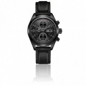 Reloj Khaki Field Auto Chrono 42 mm Negro PVD Negro H71626735