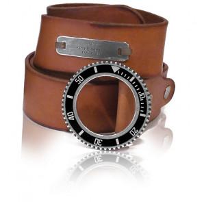 Cinturón Cuero Coñac