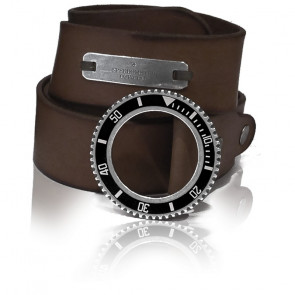 Cinturón Cuero Dark Brown