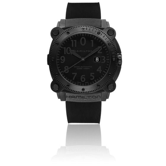 50915dd0b5d7 Reloj Hamilton modelo buceo Khaki Belowzero 1000M - Ocarat