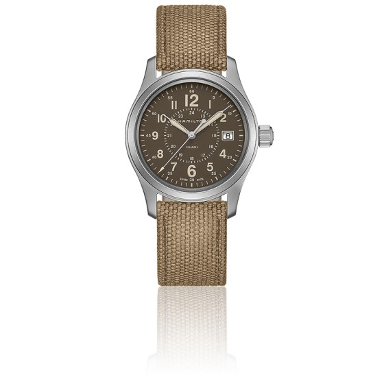 a256ac756910 Reloj Hamilton Khaki Field Quartz H68201993 - Ocarat