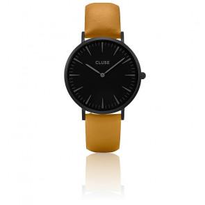 Reloj La Bohème Full Black/Mustard CL18508