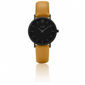 Reloj Minuit Full Black Mustard CL30033