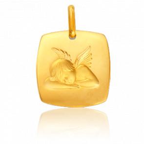 Medalla Ángel Adormecido Oro Amarillo