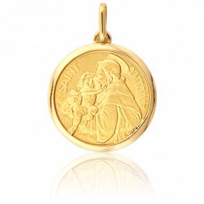 Medalla San Antonio Oro Amarillo