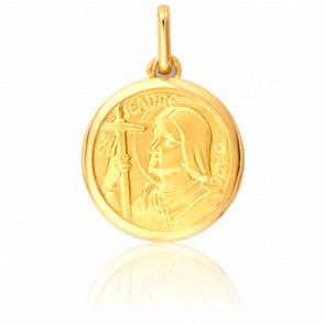 Medalla Juana de Arco Oro Amarillo