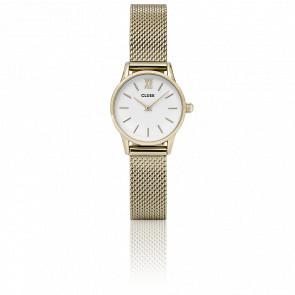Reloj La Vedette Mesh Gold White CL50007