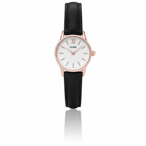 Reloj La Vedette Rose Gold White/Black CL50008