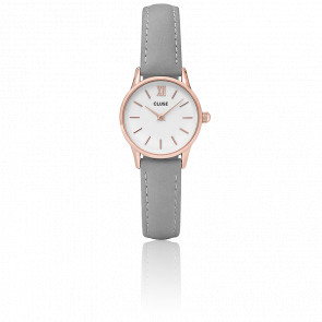 Reloj La Vedette Rose Gold White/Grey CL50009