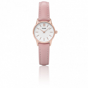 Reloj La Vedette Rose Gold White/Pink CL50010