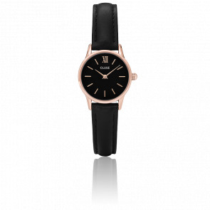 Reloj La Vedette Rose Gold Black/Black CL50011