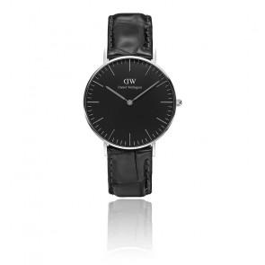 Reloj Classic Black Silver Reading 36mm