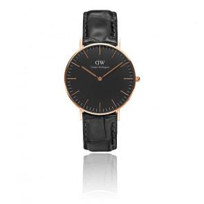 Reloj Classic Black Rose Gold Reading 36mm