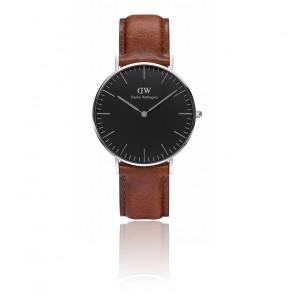 Reloj Classic Black Silver St Mawes 36mm