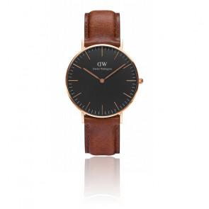 Reloj Classic Black Rose Gold St Mawes 36mm