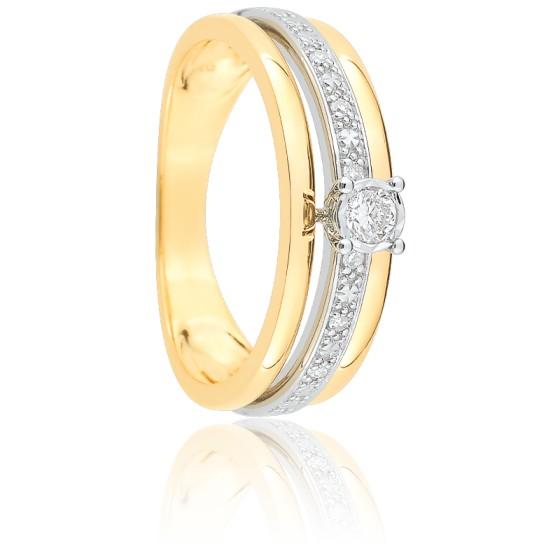 cc8584060240 Anillo Oro amarillo y Diamantes modelo Esmée Joelli - Ocarat
