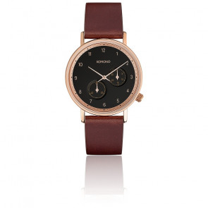 Reloj The Walther Burgundy