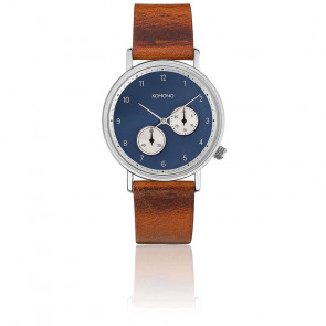Reloj The Walther Cognac