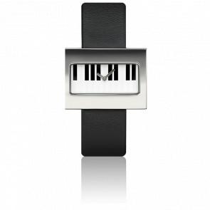 Reloj Art Piano Clavier
